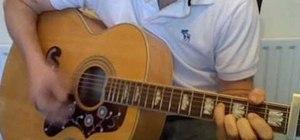 "Play ""Norwegian Wood"" by the Beatles on guitar"