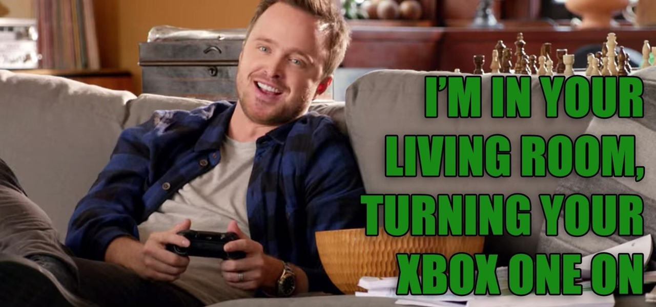 Jesse Pinkman Can Turn on Your Xbox One at Home