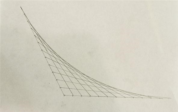 How to Create Parabolic Curves Using Straight Lines