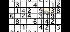 Begin playing Sudoku