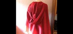 Sew a cape
