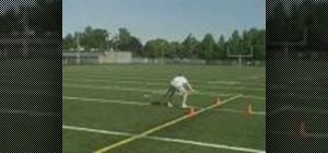Practice the 3 Yard Star football drill