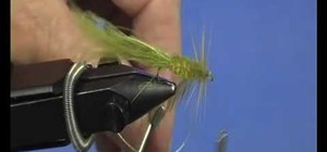 Tie a Woolley Bugger for fly fishing