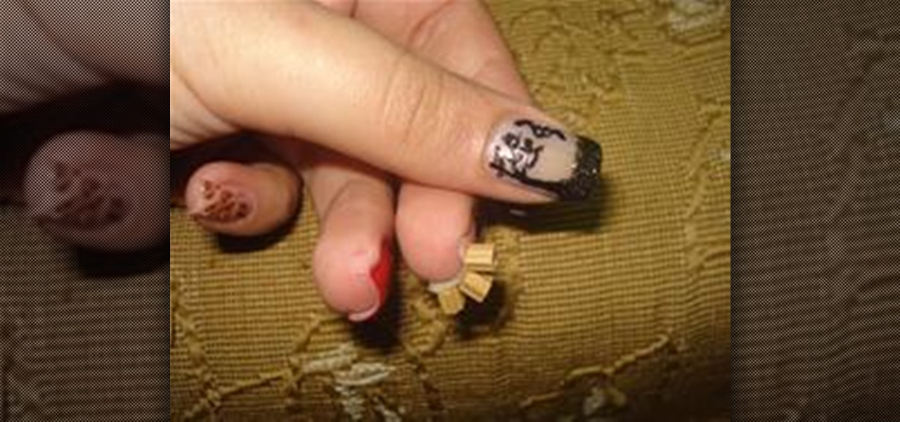 How To Use A Needle For Cool Nail Art Designs Nails Manicure