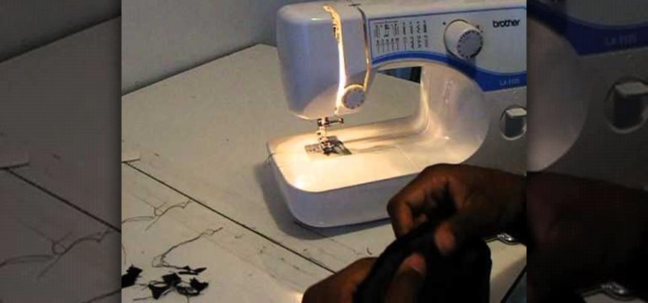 Hem Stitch Machine How to Make a Blind Hem Stitch