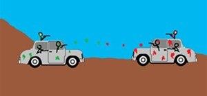 rally car paintball