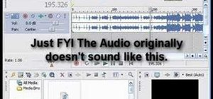 Reduce quality on audio tracks to sound like phone