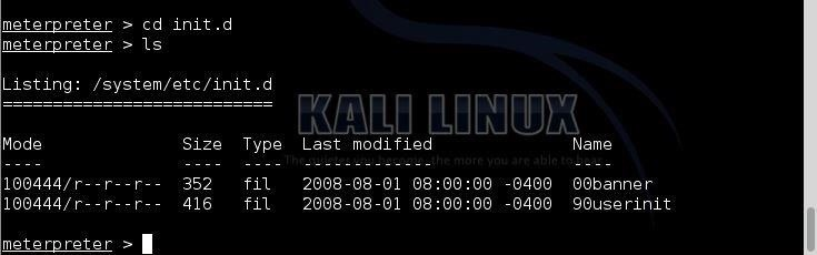 How to Create a Persistent Back Door in Android Using Kali Linux: