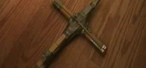 Make a Nerf crossbow out of household materials