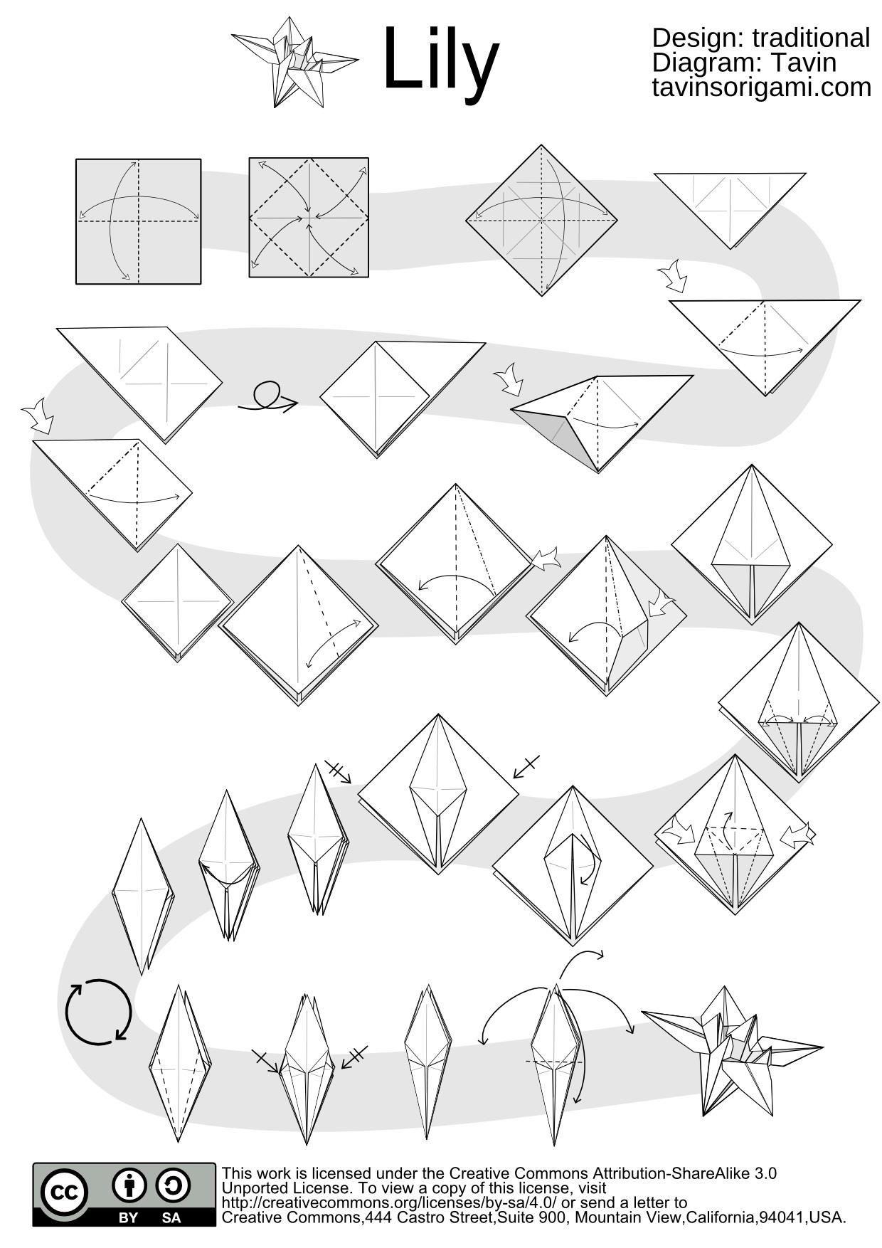 Dollar Flower Origami