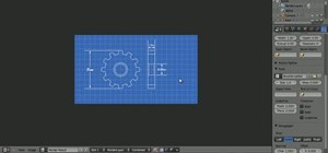 Create blueprints in Blender 2.5