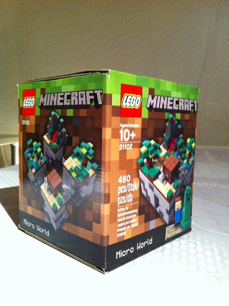 Achievement: Get Your Minecraft LEGOs