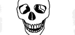Draw a skull
