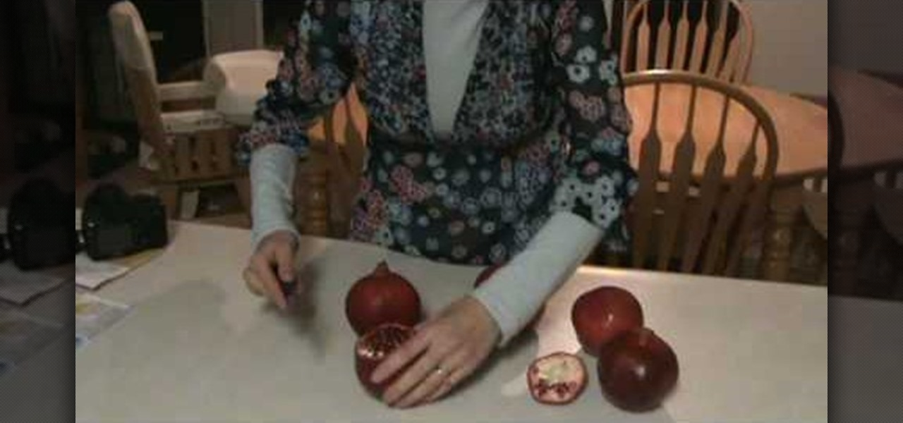 how to eat pomegranate without seeds