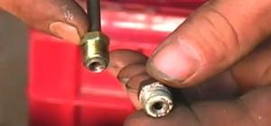 Replace Steel Brake Lines