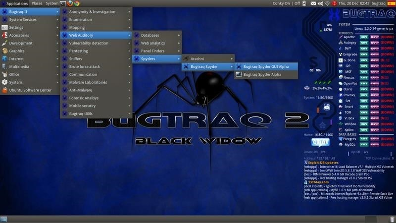 Pros and Cons of BugTraq 2 (Black Widow)