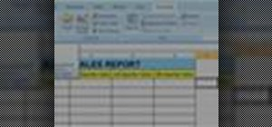 Record a macro in Excel 2007