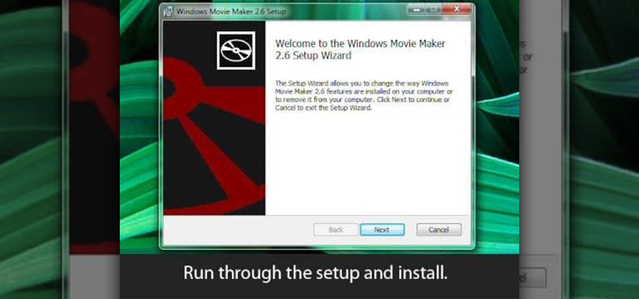How install windows movie maker