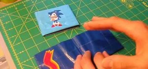 Decorate a credit card holder with duct tape