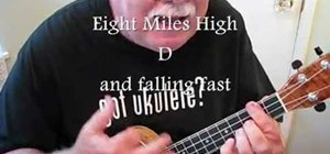 "Play ""American Pie"" by Don McLean on the ukulele"