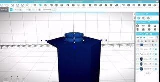 How to Make a Stackable Hexagon Model in SelfCAD