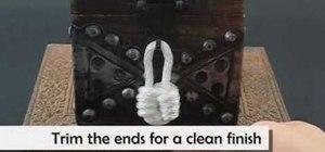 Tie the padlock knot
