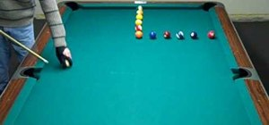 Set up the L drill in pool