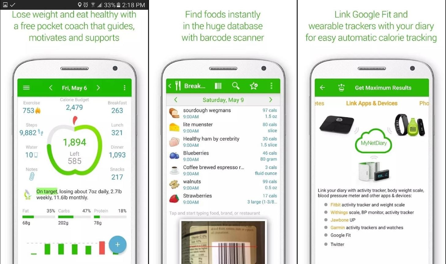 6 Apps to Help You Diet & Exercise More in the New Year