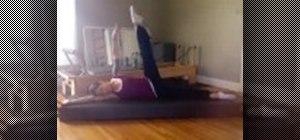 Get skinny legs through Pilates exercise