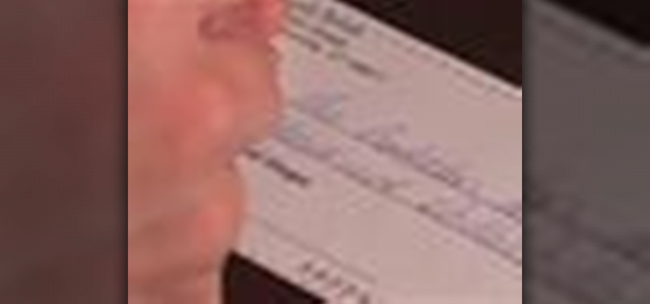 how to write a check properly  u00ab budgets  u0026 tax preparation