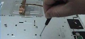 "Repair a MacBook Pro 17"" - Keyboard removal"