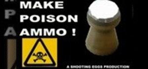 Make poison ammo