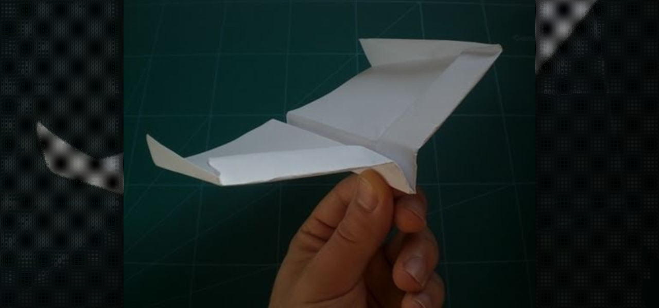 foldrecordsettinggliderstylepaperairplaneguinnessworldrecords  Origami Paper Airplane Glider