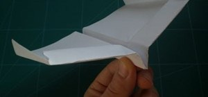 Fold the record-setting glider-style paper airplane (Guinness World Records)