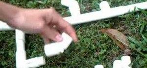 Make a rapid fire marshmallow gun with PVC