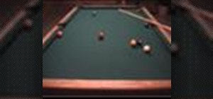 Freeze a cue ball on an object ball for safety