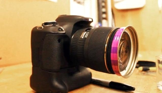 How to Fix a Camera's Broken Lens Hood Using Peanut Butter (Sort Of)