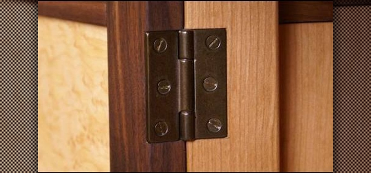 How to Install a piano hinge on a side door « Construction ...