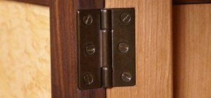Install a butt hinge mortise