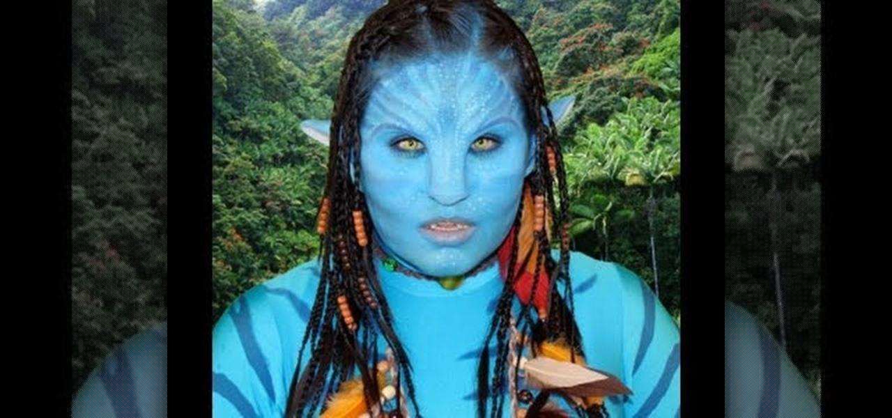 Mermaid body makeup