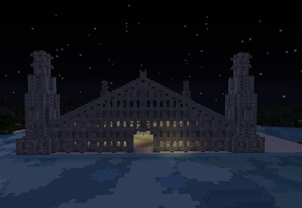 Check out this awesome gathering hall by User Andrewed.