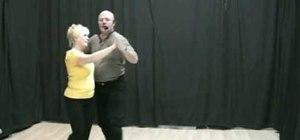 Dance beginner tango with Michael Thomas