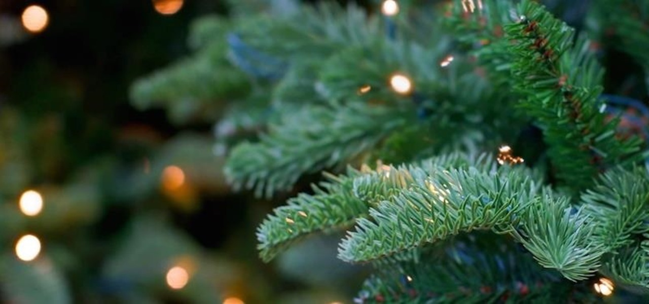 Fill in Ugly Bare Spots on Your Christmas Tree