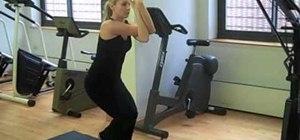 Assume the Eagle yoga pose to help improve your balance