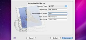 Enable a Live/Hotmail account in Mac's Mail