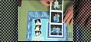 Make a flip and fold photo album