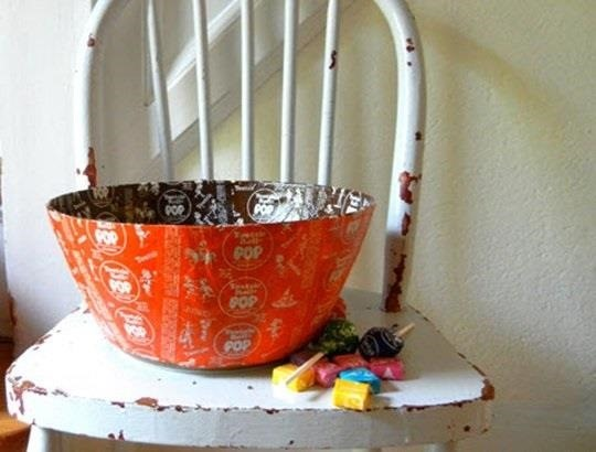 11 Clever Candy Wrapper Crafts You Can Do After Binging on Halloween Chocolate