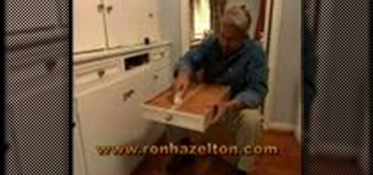 How To Fix A Stuck Drawer « Construction & Repair