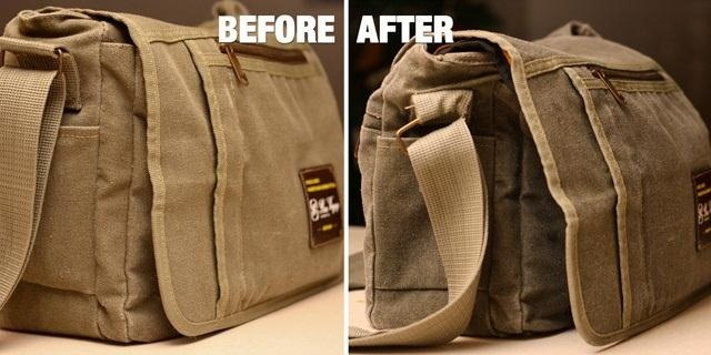 How to Turn a Canvas Messenger Bag into a Water-Resistant Waxed Camera Case